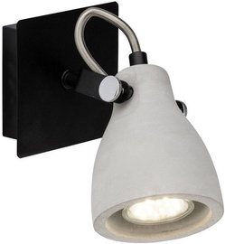 Brilliant Spotlight Thanos Lamp 20W GU10 Black/Concrete