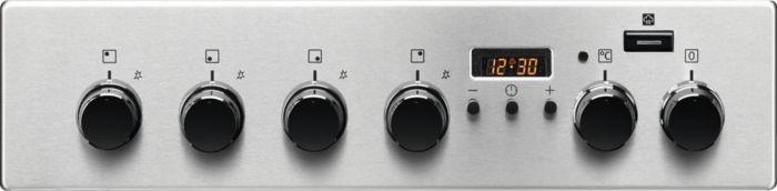 Gāzes plīts ar elektrisko krāsni Electrolux EKK54953OX