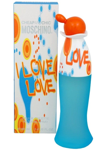 Tualettvesi Moschino I Love Love 100ml EDT
