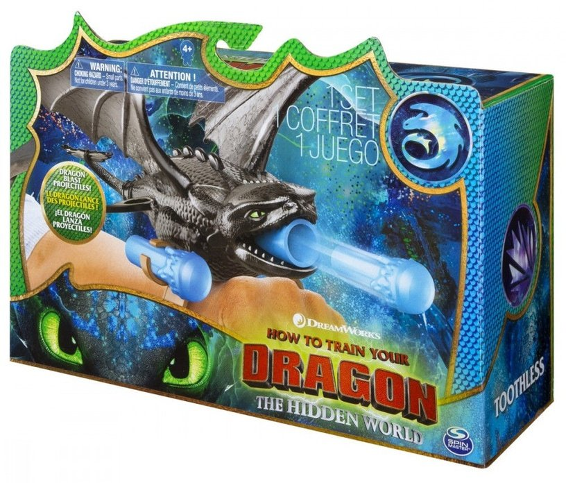 Spin Master DreamWorks How To Train Your Dragon Hidden World Toothless