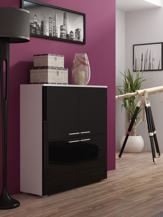 Cama Meble Como Chest Of Drawers Black