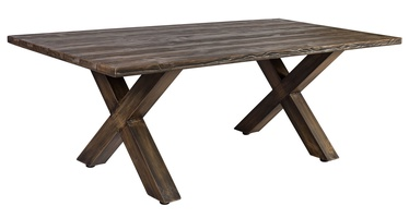 Home4you Geneva Garden Table Brown