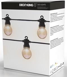 Светильник DecoKing LED Garden Starter GB/SS/ST/WW/10L;8M, 10x6Вт, LED, IP44, черный