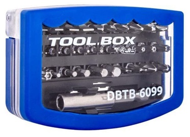 Digitalbox Tool Box 6.3mm Bits Set