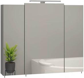Sanwerk Everest 80 Bathroom Cabinet With Mirror Gray