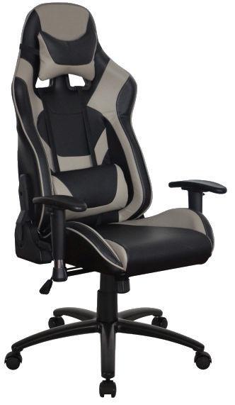 Biroja krēsls Signal Meble Supra Black/Grey