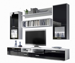 Idzczak Meble Franco Wall Unit Black/White