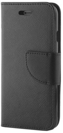 Mocco Fancy Book Case For Nokia 8 Black