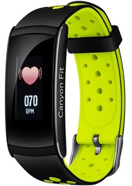 Canyon Colourful Fitness Band for Sports Fans Black Green