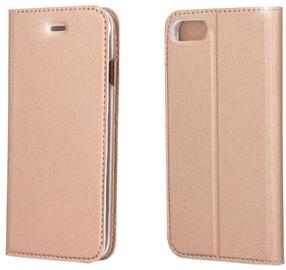 Blun Premium Smart Magnetic Fix Book Case For Samsung Galaxy A3 A320F Rose Gold