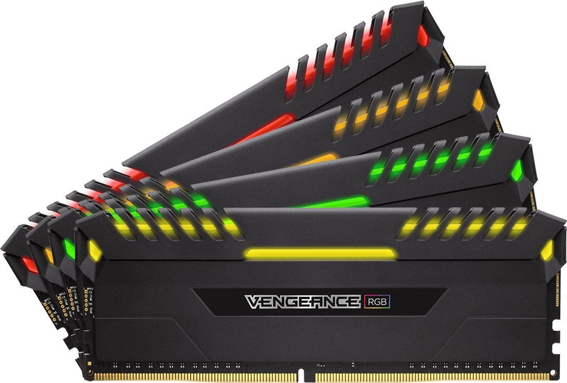 Corsair Vengeance LED 32GB 3000MHz CL15 DDR4 RGB DIMM KIT OF 4 CMR32GX4M4C3000C15