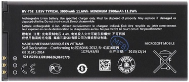 Nokia BV-T5E Original Battery For Microsoft Lumia 950 Dual SIM Li-Ion 2900mAh