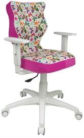 Bērnu krēsls Entelo ST31 White/Pink, 400x370x1000 mm