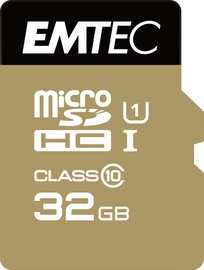 Emtec 32GB Gold+ Micro SDHC Class10