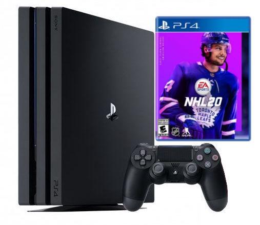 Sony PlayStation 4 (PS4) Pro 1TB Black + NHL 20
