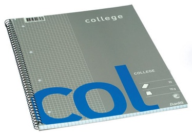 Bantex College A5 Notepad 70 pages Grey