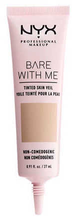 NYX Bare With Me Tinted Skin Veil 27ml True Beige Buff