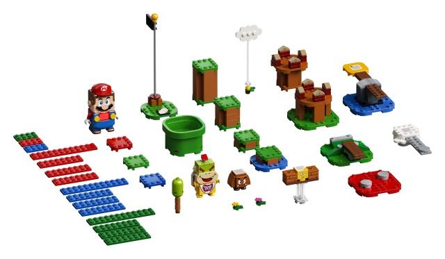 Конструктор LEGO Super Mario Adventures With Mario Starter Course 71360 71360, 231 шт.
