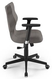 Biroja krēsls Entelo Nero AL02, brūna/melna