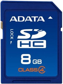 A-Data SDHC Card 8GB Class 4