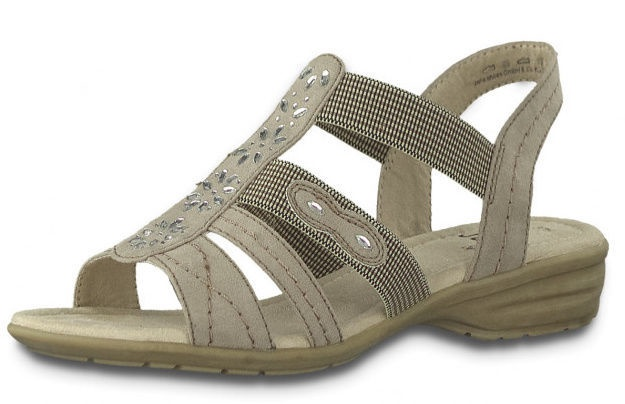Softline Sandals 8/8-28163/22 Taupe 37