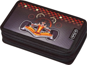 Herlitz Double Pencil Case 23Pcs Formula 1