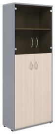 Skyland Imago Office Cabinet CT-1.7 Maple/Metallic