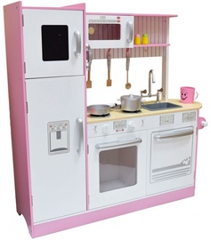 4IQ Mary Universal Wooden Kitchen Pink/White