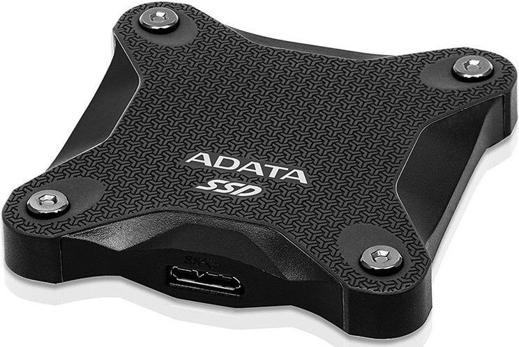 ADATA SD600Q 480GB USB 3.1 External SSD Black
