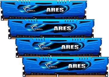 G.SKILL Ares 32GB 2400MHz CL10 DDR3 KIT OF 4 F3-2400C11Q-32GAB