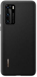 Huawei Plastic Back Case For Huawei P40 Black