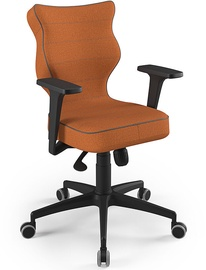 Entelo Perto Black Office Chair FC34 Orange