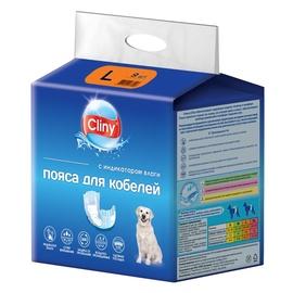 Подгузники Ekoprom Cliny Male Dog Wrap, L, 9 шт.