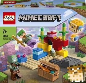 Конструктор LEGO Minecraft Коралловый риф 21164, 92 шт.