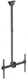 Techly Telescopic Ceiling Long Mount For TV 156 Cm 37-70""