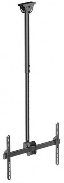 Televizoriaus laikiklis Techly Telescopic Ceiling Long Mount For TV 156 Cm 37-70""
