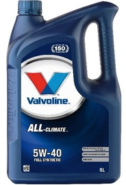 Valvoline All Climate 5w40 Engine Oil 5L