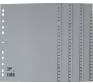Bantex Strong Line Divider Index 1-100