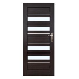 Vidaus durų varčia Everhouse Bari, wenge, kairinė, 84.4x203.5 cm