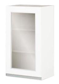 Верхний кухонный шкаф Bodzio Sandi Left 40x72x31cm White