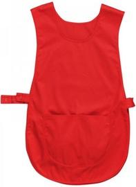 Viesnīcu Tekstils Smock Apron S843 S/M Red