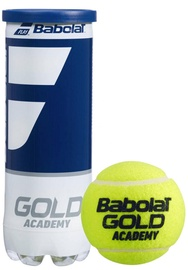 Tennisepall Babolat Gold Academy, kollane, 3 tk