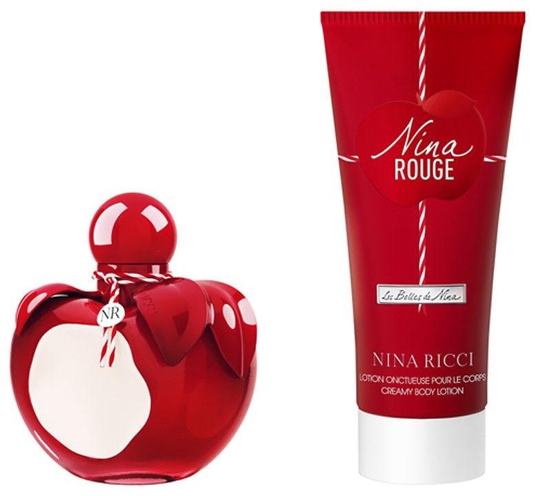 Набор для женщин Nina Ricci Nina Rouge 2pcs Set 125 ml EDT