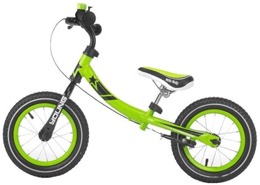 Milly Mally Young Balance Bike Green 2077