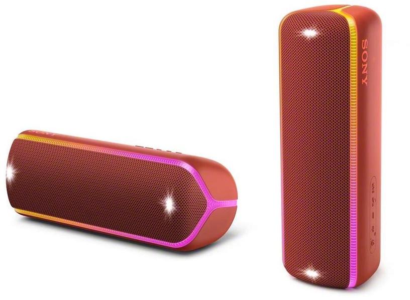 Belaidė kolonėlė Sony XB32 Extra Bass Red