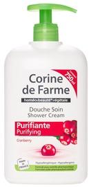 Corine de Farme Shower Cream 750ml Cranberry