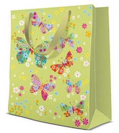 Paw Decor Collection Gift Bag Butterflies Around 20x10x25cm