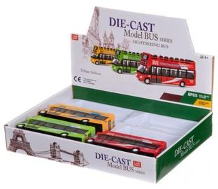 Rotaļlieta autobuss, 14cm, dažādas krāsas