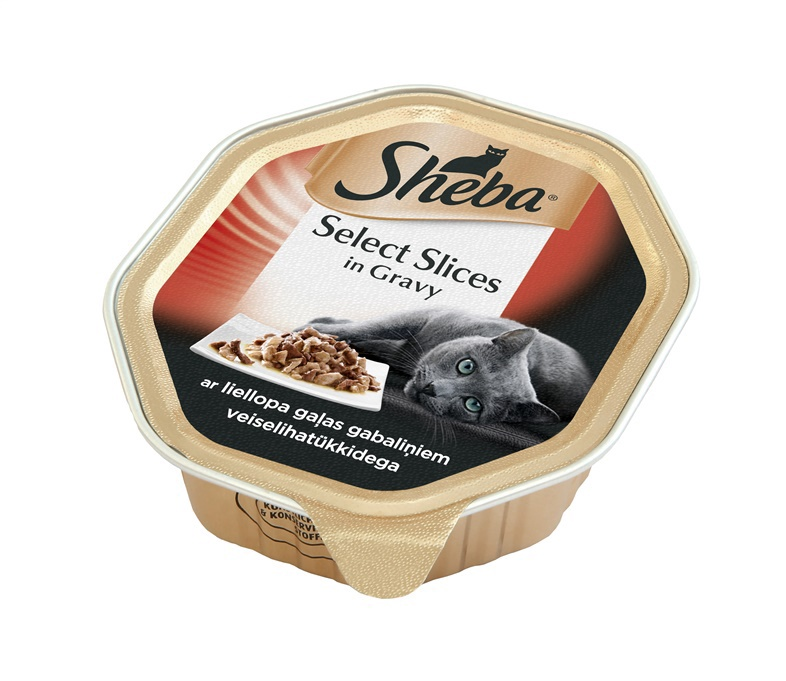 Sheba Select Slices With Beef In Souce 85g