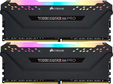Corsair Vengeance RGB PRO Black 32GB 2933MHz CL16 DDR4 KIT OF 2 CMW32GX4M2Z2933C16
